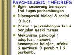 psychologic theories1