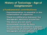 history of toxicology age of enlightenment2