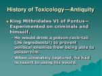 history of toxicology antiquity2