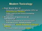 modern toxicology2