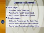 miscellaneous methods1