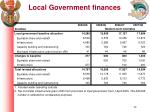 local government finances1
