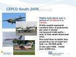 cepco south 2008