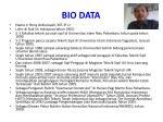 bio data