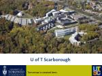 u of t scarborough