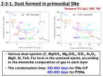 2 3 1 dust formed in primordial sne