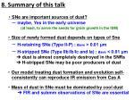 8 summary of this talk