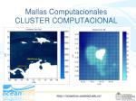 mallas computacionales cluster computacional