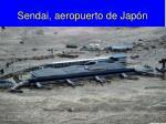 sendai aeropuerto de jap n