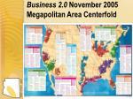 business 2 0 november 2005 megapolitan area centerfold
