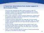 4 some key observations from cluster support in eu cohesion policy