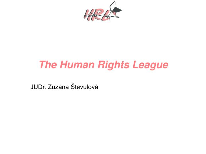 the human rights league n.