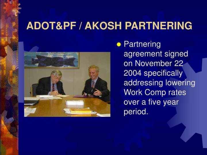 adot pf akosh partnering n.