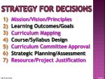 strategy for decisions2