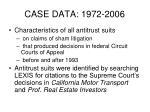 case data 1972 2006