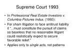 supreme court 1993