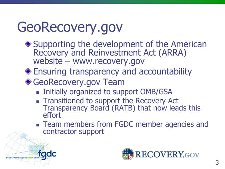 Georecovery gov