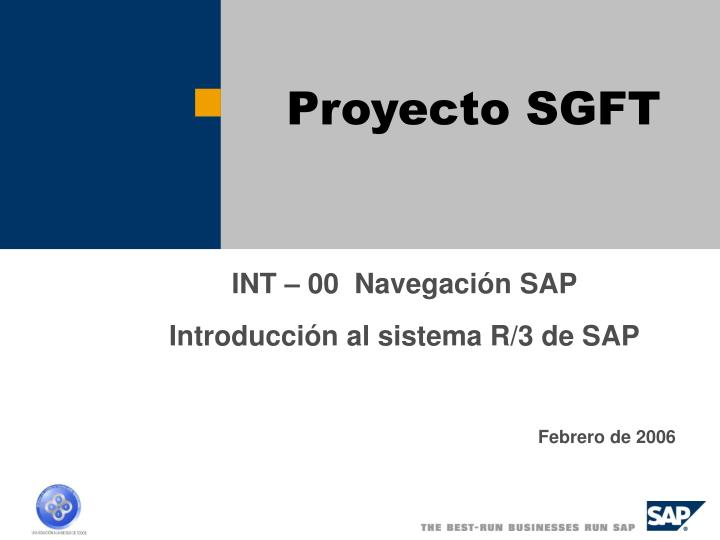 proyecto sgft n.