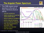 the angular power spectrum