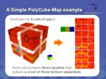 a simple polycube map example