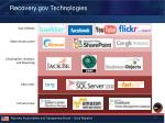 recovery gov technologies
