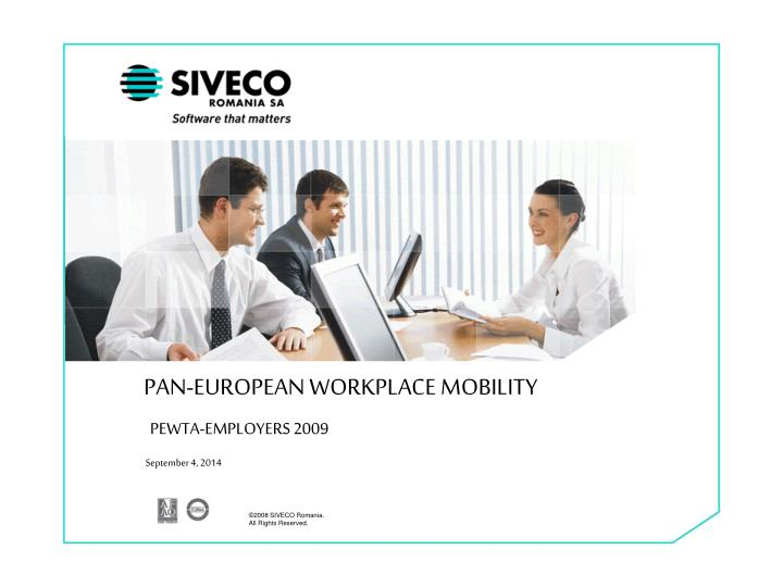 pan european workplace mobility n.