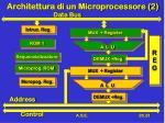 architettura di un microprocessore 2