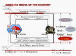working model of the ecomony