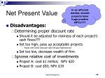 net present value3