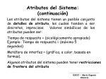 atributos del sistema continuaci n1