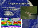 im genes satelitales