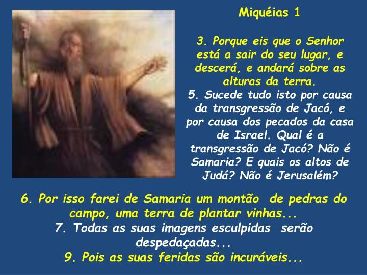 Miquéias 1