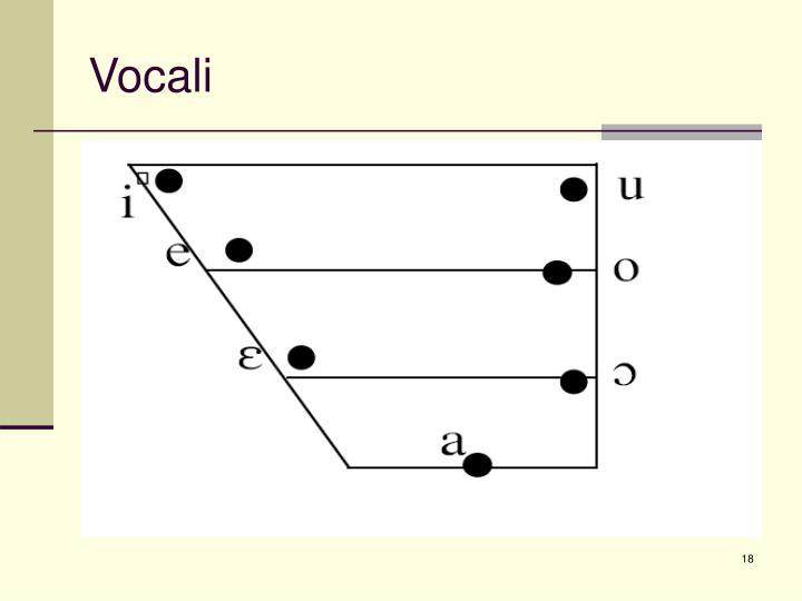 Vocali