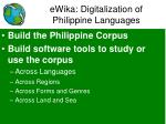 ewika digitalization of philippine languages1