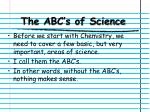 the abc s of science1