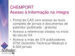 chemport acesso informa o na ntegra