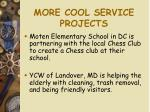 more cool service projects