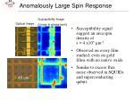 anomalously large spin response