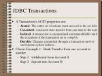 jdbc transactions