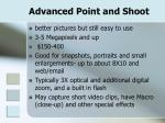 advanced point and shoot