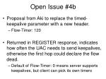open issue 4b
