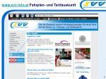 www svv info at fahrplan und tarifauskunft