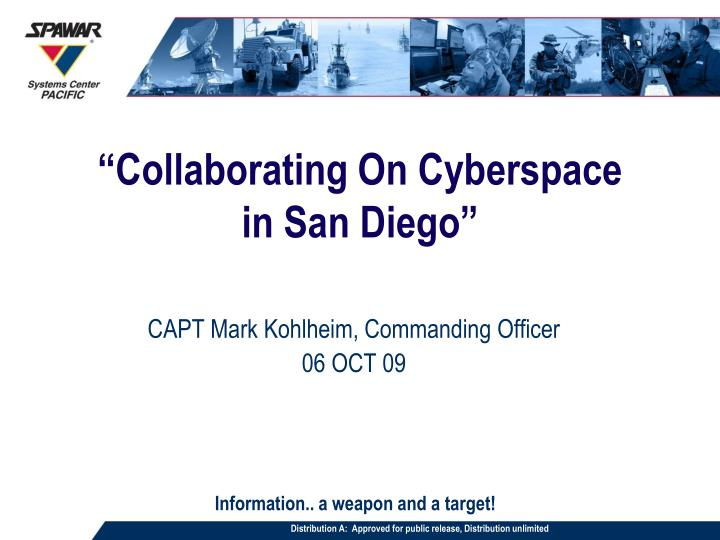collaborating on cyberspace in san diego n.
