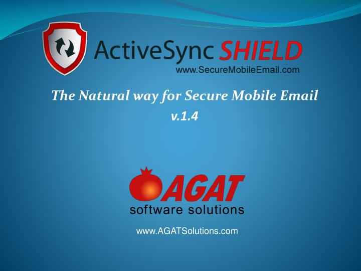 the natural way for secure mobile email v 1 4 n.