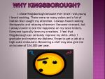 why kingsborough