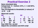 practical exercise 2