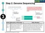 step 2 genome sequencing