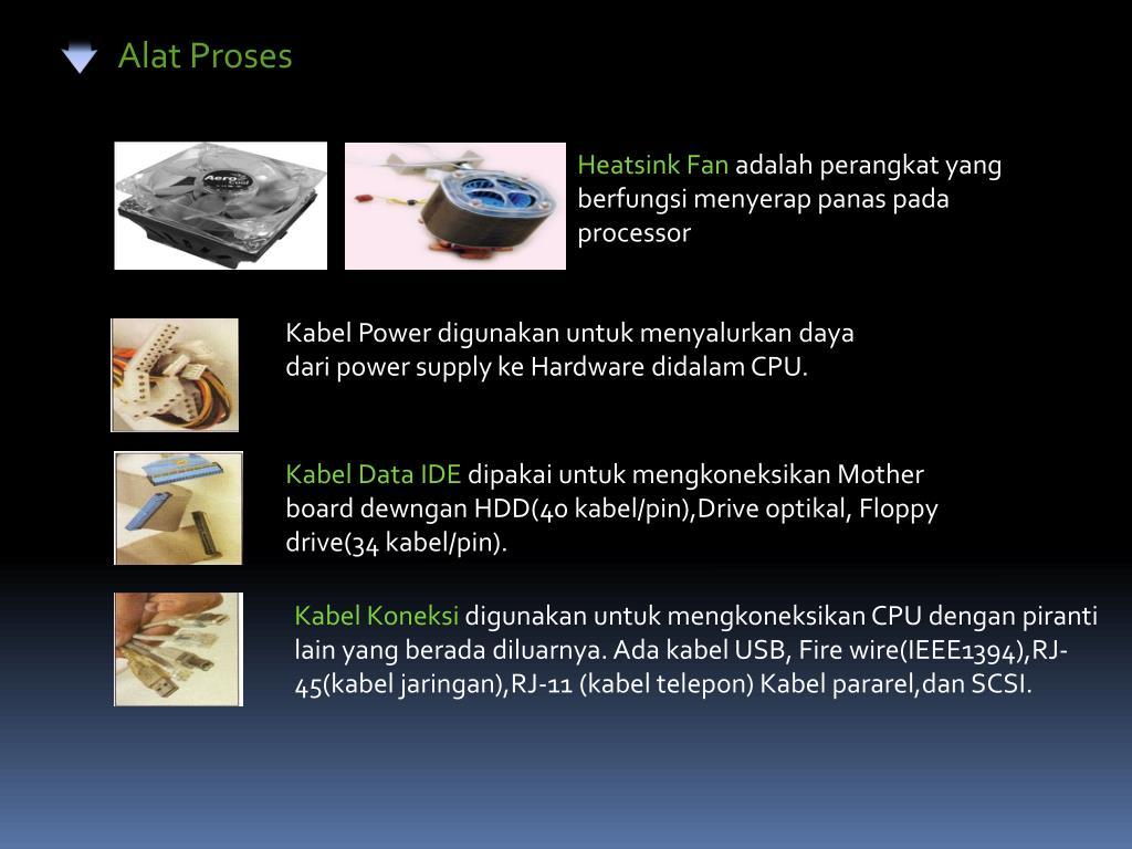 Ppt Alat Proses Powerpoint Presentation Id3917126