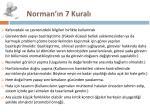 norman n 7 kural