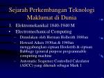 sejarah perkembangan teknologi maklumat di dunia13